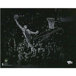 "Giannis Antetokounmpo Signed Milwaukee Bucks ""Dunking Spotlight"" 11x14 Photo (Fanatics Hologram)"