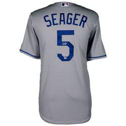 Corey Seager Signed Dodgers Authentic Majestic Cool Base Jersey (MLB Hologram  Fanatics Hologram)