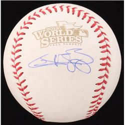 Quintin Berry Signed 2013 World Series Baseball (JSA COA)