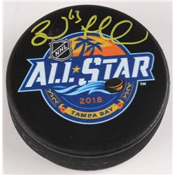 Brad Marchand Signed 2018 NHL All-Star Game Logo Hockey Puck (Marchand Hologram)