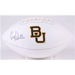 Corey Coleman Signed Baylor Bears Logo Football (JSA COA)