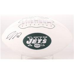 Jamal Adams Signed New York Jets Logo Football (JSA COA)