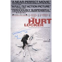 "Anthony Mackie Signed The Hurt Locker 12x18 Movie Poster Photo Inscribed ""Goal Bizness!"" (Beckett CO"