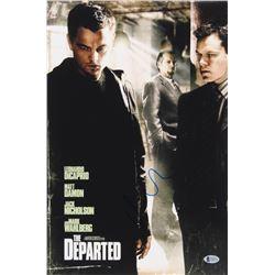 Matt Damon Signed The Departed 12x18 Movie Poster Photo (Beckett COA)
