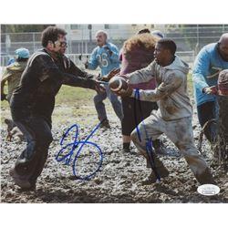 "Kevin Hart  Josh Gad Signed ""The Wedding Ringer"" 8x10 Photo (JSA COA)"