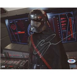 "Gwendoline Christie Signed ""Star Wars: Episode VII – The Force Awakens"" 8x10 Photo (PSA COA)"