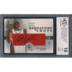 2005-06 Sweet Shot Signature Shots #CP Chris Paul (BCCG 10)