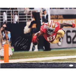 Anquan Boldin Signed San Francisco 49ers 16x20 Photo (JSA COA)