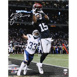 Michael Crabtree Signed Oakland Raiders 16x20 Photo (JSA COA)