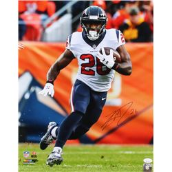 Lamar Miller Signed Houston Texans 16x20 Photo (JSA COA)