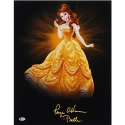 "Paige O'Hara Signed ""Beauty and the Beast"" 16x20 Photo Inscribed ""Belle"" (Beckett COA)"