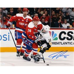 John Carlson Signed Washington Capitals 16x20 Photo (JSA COA)
