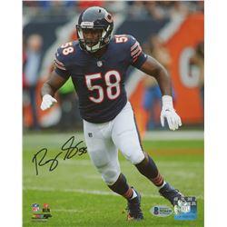 Roquan Smith Signed Chicago Bears 8x10 Photo (Beckett COA)