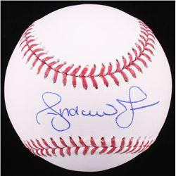 Andruw Jones Signed OML Baseball (Radtke COA)