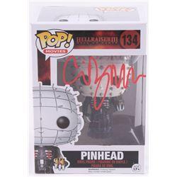 """Clive Barker Signed """"Hellraiser III"""" #134 Funko Pop! Vinyl Figure (Radtke COA)"""