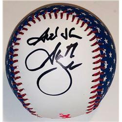 """Garth Brooks Signed Fender Baseball Inscribed """"God Bless"""" (PSA COA)"""