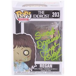 "Linda Blair Signed ""Regan"" #203 The Exorcist Funko Pop Movies Vinyl Figure Inscribed ""Sweet Dreams!"""