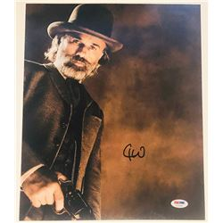 "Christoph Waltz Signed ""Django Unchained"" 11x14 Photo (PSA COA)"