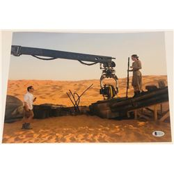 "J.J. Abrams Signed ""Star Wars: The Force Awakens"" 11x14 Photo (Beckett COA)"