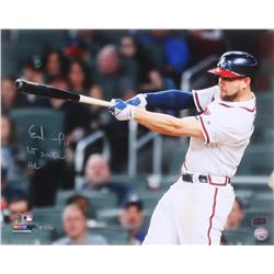 "Ender Inciarte Signed LE Atlanta Braves 16x20 Photo Inscribed ""1st Suntrust HR"" (Radtke COA)"