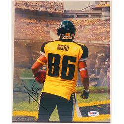 """Hines Ward Signed """"The Dark Knight Rises"""" 8.5x11 Photo (PSA COA)"""