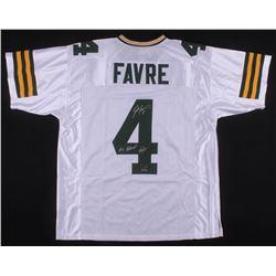 "Brett Favre Signed Limited Edition Jersey Inscribed ""#4 Retired""  ""7/18/15""  (Radtke COA)"