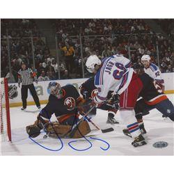 Jaromir Jagr Signed New York Rangers 8x10 Photo (Steiner Hologram)