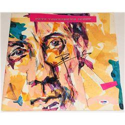 "Pete Townshend Signed ""Scoop"" Vinyl Album Cover (PSA COA)"