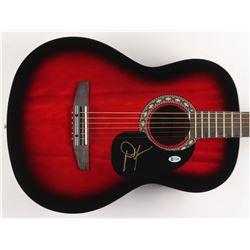 "Dwight Yoakam Signed 38"" Acoustic Guitar (Beckett COA)"