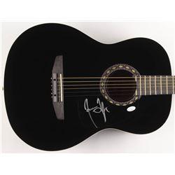 "James Taylor Signed 38"" Rogue Acoustic Guitar (JSA COA)"