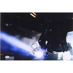 "Michael Keaton Signed 12x18 ""Spider-Man: Homecoming"" Photo (PSA COA)"
