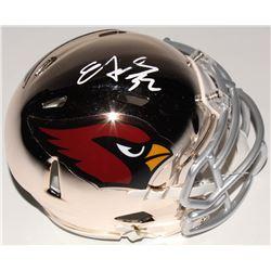Edgerrin James Signed Arizona Cardinals Chrome Mini Speed Helmet (Radtke COA)