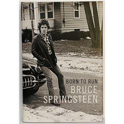 "Bruce Springsteen Signed ""Born To Run"" Hardcover Book (JSA LOA)"