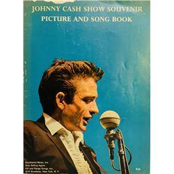 Johnny Cash Signed 9x12 Songbook (JSA LOA)
