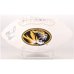 Michael Sam Signed Missouri Tigers Logo Football (Radtke COA)
