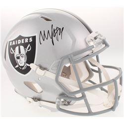 Marshawn Lynch Signed Oakland Raiders Full-Size Authentic On-Field Speed Helmet (Radtke COA)