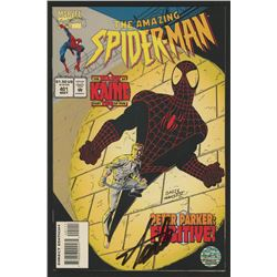 """Stan Lee Signed 1995 """"The Amazing Spiderman"""" Issue #401 Marvel Comic Book (Lee COA)"""