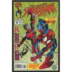 """Stan Lee Signed 1994 """"The Amazing Spiderman"""" Issue #396 Marvel Comic Book (Lee COA)"""