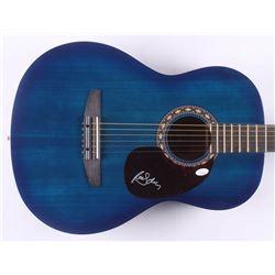 "Randy Owen Signed 39"" Rogue Acoustic Guitar (JSA COA)"