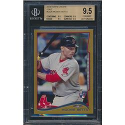 2014 Topps Update Gold #US26 Mookie Betts (BGS 9.5)