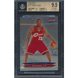 2004 Ultra Hummer H2 #171 LeBron James (BGS 9.5)