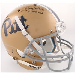 "Tony Dorsett Signed Pittsburgh Panthers Full-Size Helmet Inscribed ""76 Heisman"" (JSA COA)"