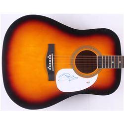 "Billy Joel Signed 41"" Acoustic Guitar (PSA COA)"