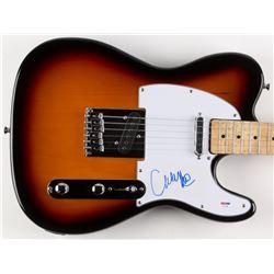 "Courtney Love Signed 39"" Huntington Electric Guitar (PSA COA)"