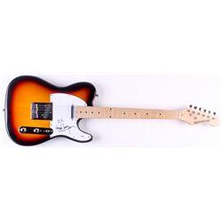 "Cyndi Lauper Signed 40"" Huntington Electric Guitar (PSA Hologram)"