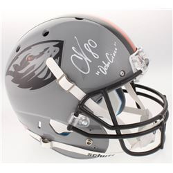 Chad Johnson Signed Oregon State Beavers Full-Size Helmet Inscribed  OchoCinco  (Radtke COA)