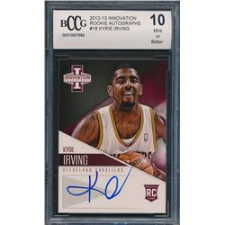 2012-13 Innovation Rookie Autographs #18 Kyrie Irving (BCCG 10)