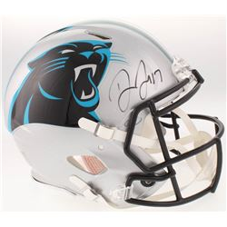 Devin Funchess Signed Carolina Panthers Full-Size Authentic On-Field Speed Helmet (JSA COA)