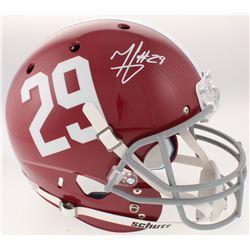 Minkah Fitzpatrick Signed Alabama Crimson Tide Full-Size Helmet (Radtke COA  GTSM Hologram)