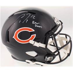 Allen Robinson Signed Chicago Bears Full-Size Speed Helmet Inscribed  Bear Down  (Schwartz Sports CO